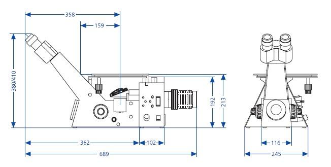 偏光 微分干涉 荧光 5,可扩展性:可配图像分析系统(数码相机,摄像头